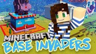 Can I Beat Them? | Base Invaders w/ Lizzie, Joel & Seapeekay!
