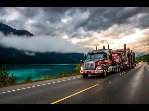 Volvo Trucks -Trekking deep into the Canadian wilderness - Drivers? World (E09)