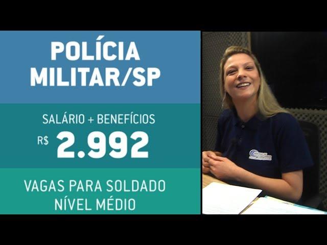 [CONCURSO DA PM/SP PARA 2.200 VAGAS PARA SOLDADO É AUTORIZADO!!!]