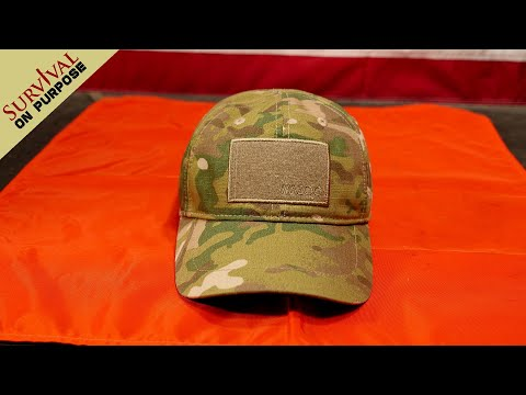 Survival Kit In A Hat - Wazoo Cache Cap