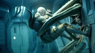 """Инженер против чужого - """"Прометей"""" отрывок из фильма"""