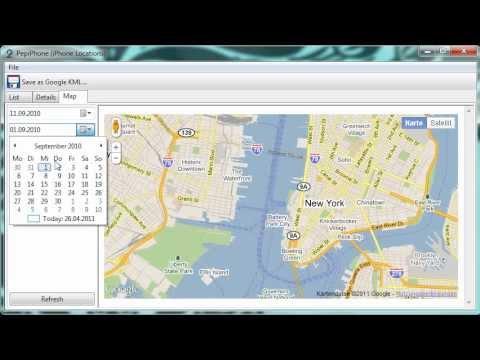 [#2] AlpAlyzer iPhone locations