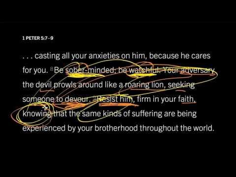 1 Peter 5:8 // Stay Alert Against Satan
