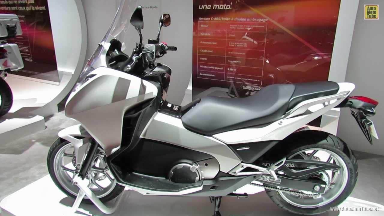 2013 honda integra scooter 2012 paris auto show 2012 mondial de l 39 automobile youtube. Black Bedroom Furniture Sets. Home Design Ideas