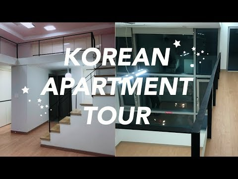 EMPTY KOREAN LOFT APARTMENT TOUR | my new apartment!