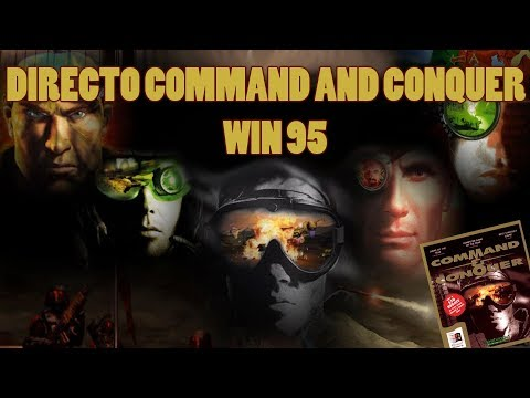 Directo Commad and Conquer 95 PC Msdos