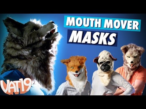 Mouth Mover Mask