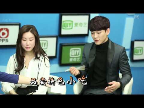 [한글자막] 140215 EXO 첸&장리인 iQiyi 인터뷰 by유애