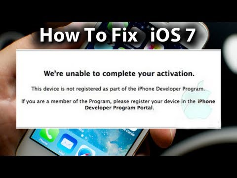 how to activate iphone 4 ios 7 error fix we re unable to complete your activation 17058