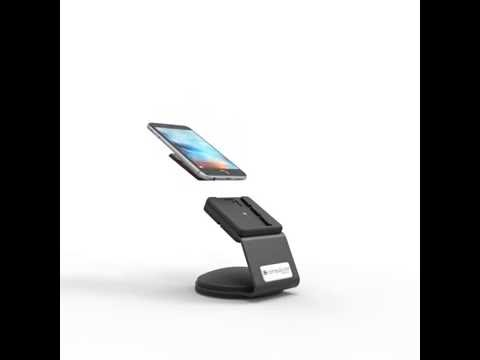 The SlideDock Security Stand - EMV Stand and Smartphone Lock