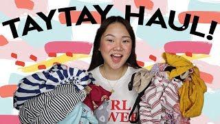 1000 PESO TAYTAY HAUL (2018)! | ASHLEY SANDRINE