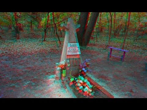 С Днем Победы 3D!Лесные Могилы героев ВОВ!