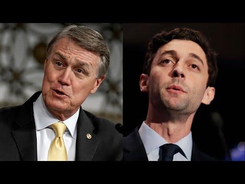 US Senate debate with Jon Ossoff and David Perdue