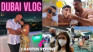 DUBAI VLOG #1 (Friends, Food & Chaos)   Sara & Dolunay
