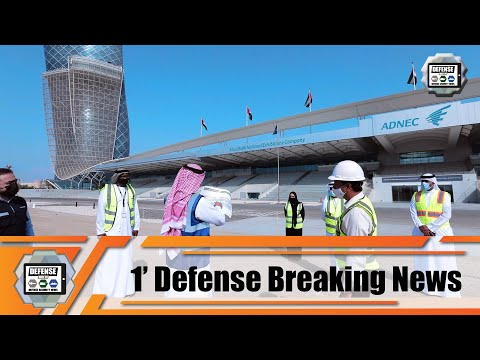 IDEX NAVDEX 2021 Build-up begins for exhibition stands for IDEX and NAVDEX 2021 defense exhibitions