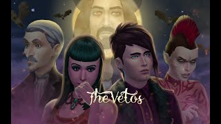 Vampire story:The Vetos | Sims 4 模拟人生 Machinima| 4K
