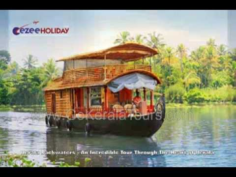 Kerala Backwater Houseboat Tours with GoKeralaTours.com