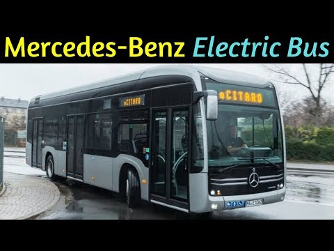 Mercedes Benz Electric Bus - eCitaro   Hi-Tech Electric Bus