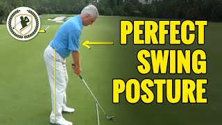 TIPS FOR PERFECT GOLF SWING SETUP AND POSTURE