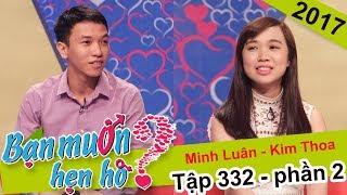 Cái kết nào cho chuyện hẹn hò của chàng bán xe -  nàng bán nhà | Minh Luân - Kim Thoa | BMHH 332 🤔