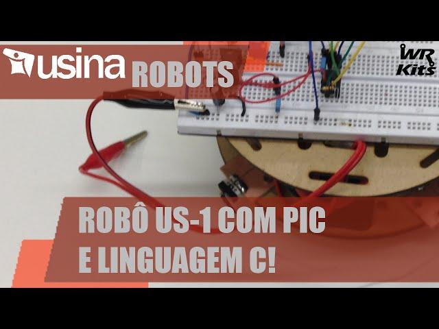 ROBÔ US-1 COM PIC E C | Usina Robots #012