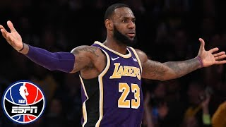LeBron James' late takeover powers Lakers past Spurs   NBA Highlights