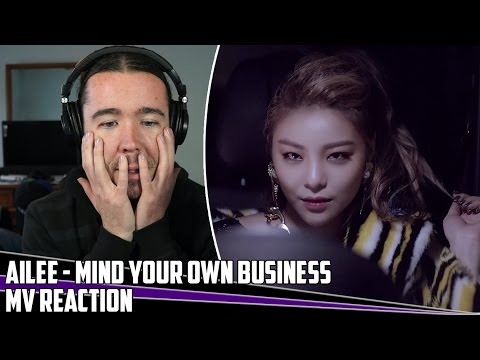 Ailee(에일리) - Mind Your Own Business(너나 잘해) | MV Reaction