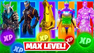 The *RANDOM* MAX LEVEL Skin Challenge (All Seasons)