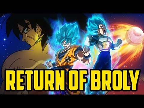 Broly's MUSCULAR RETURN To Dragon Ball Super