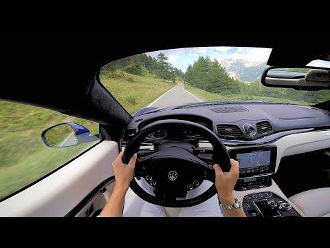 Maserati Granturismo Sport: Test Drive POV e Sound del Motore!