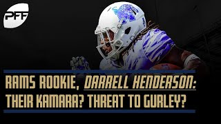 Rams Rookie Darrell Henderson: Their Kamara? Threat to Gurley? | PFF