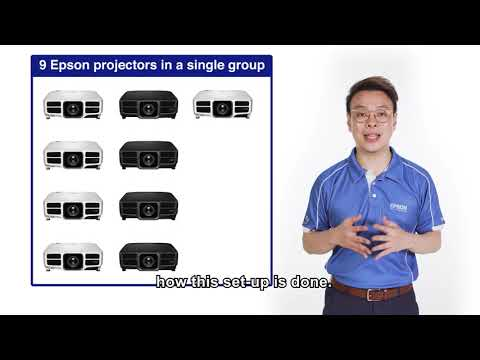 Epson Projector Guide Episode 8: Step by Step guide for edge blending and auto colour calibration