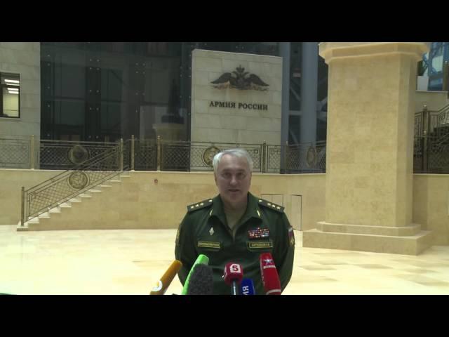 Начальник ГОУ ГШ ВС РФ Андрей Картаполов рассказал о деятельности авиагруппировки в Сирии