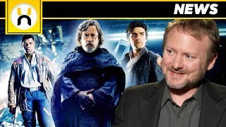 The Last Jedi Rian Johnson Says He's Proud he made Fans Angry