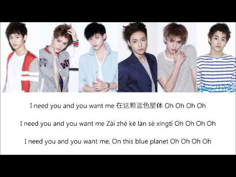 EXO-M - History [Chinese/PinYin/English] Color Color & Picture Coded HD