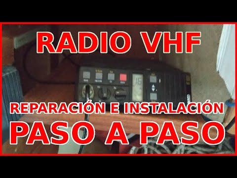 Reparamos el CABLE COAXIAL de la RADIO VHF - Instalación completa paso a paso (Y más sorpresas 😉)