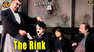 The Rink l Charlie Chaplin l Funny Silent Comedy Film (1916)