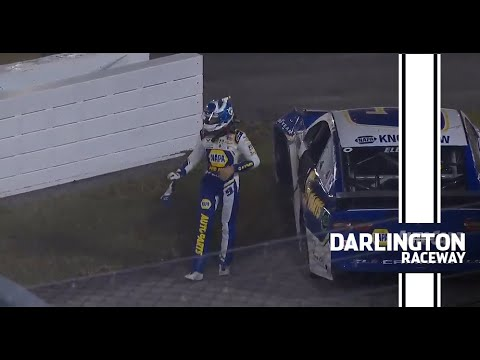 Busch, Elliott make contact, ends No. 9's night | NASCAR at Darlington