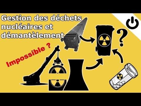 ⚡☢️🗑️ Gestion des déchets nucléaires et démantèlement - DÉCHETS RADIOACTIFS #3