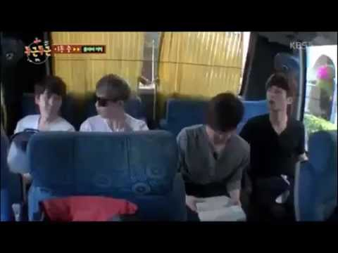 Kyuhyun finds Siwon In India-Fluttering India [ENG SUB]