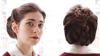 An Everyday Victorian-Style Updo