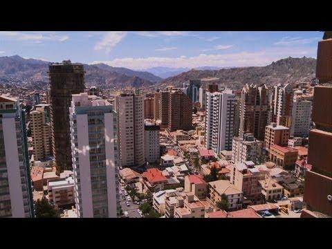Boom de construcción en Bolivia