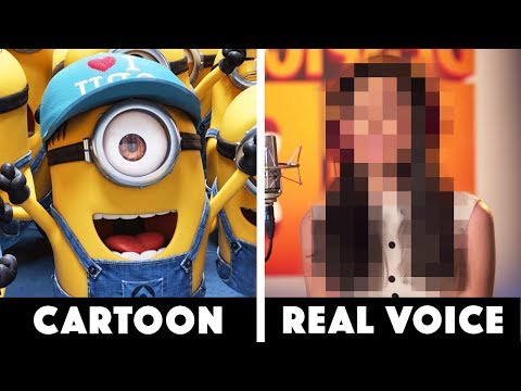 10 Real People Behind Famous Cartoons!