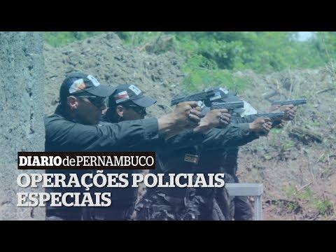 Treinamento do Batalhão de Operações Especiais (Bope)