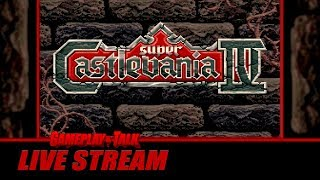 Gameplay and Talk Live Stream - SUPER CASTLEVANIA IV HALLOWEEN STREAM