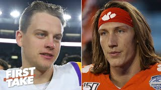Trevor Lawrence or Joe Burrow: Which QB will impact the CFP title game more? | First Take