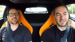 Driving the McLaren with Ian Hecox (Smosh)