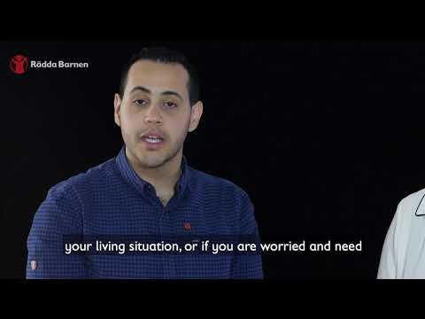 Save the Children Sweden Helpline - in arabic with english subtitle