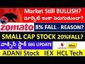 Stock Market FALL from GAP UP?, ADANI STOCK, IEX STOCK, HCL TECH STOCK, NOICL STOCK