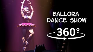 360°| Ballora Dance Show - Five Nights at Freddy's Sister Location [FNAF/SFM] (VR Compatible)